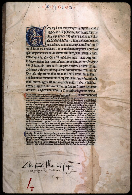 Sées, Bibl. de l'Evêché, ms. 0004, f. 001