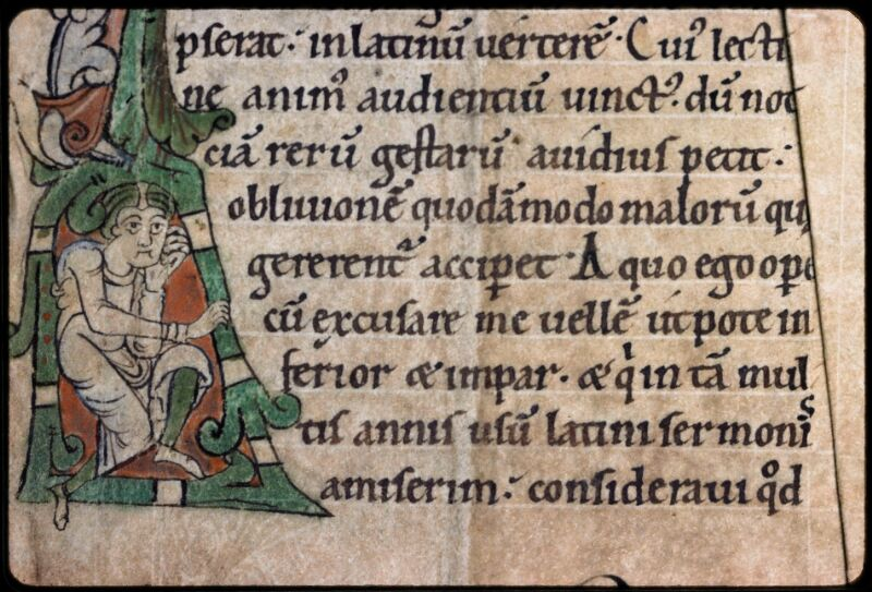 Sées, Bibl. de l'Evêché, ms. 0006, f. 001 - vue 3