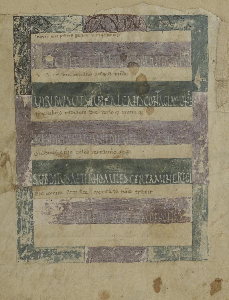 Semur-en-Auxois, Bibl. mun., ms. 0001, f. 001 bis