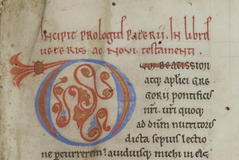Semur-en-Auxois, Bibl. mun., ms. 0026, f. 001 - vue 2