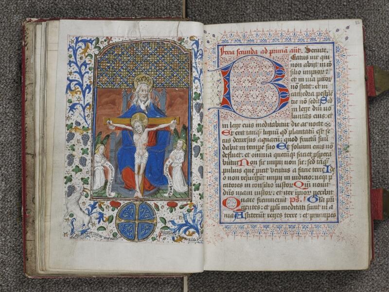 TOURNAI, Bibliothèque du Séminaire, 012, f. 021v - 022