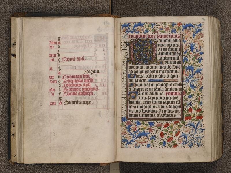 TOURNAI, Bibliothèque du Séminaire, 015, f. 012v - 013
