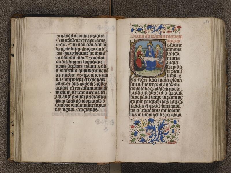 TOURNAI, Bibliothèque du Séminaire, 015, f. 029v - 030