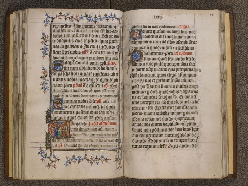 TOURNAI, Bibliothèque du Séminaire, 023, f. 054v - 055