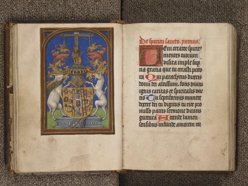 TOURNAI, Bibliothèque du Séminaire, 040, f. 015v - 016