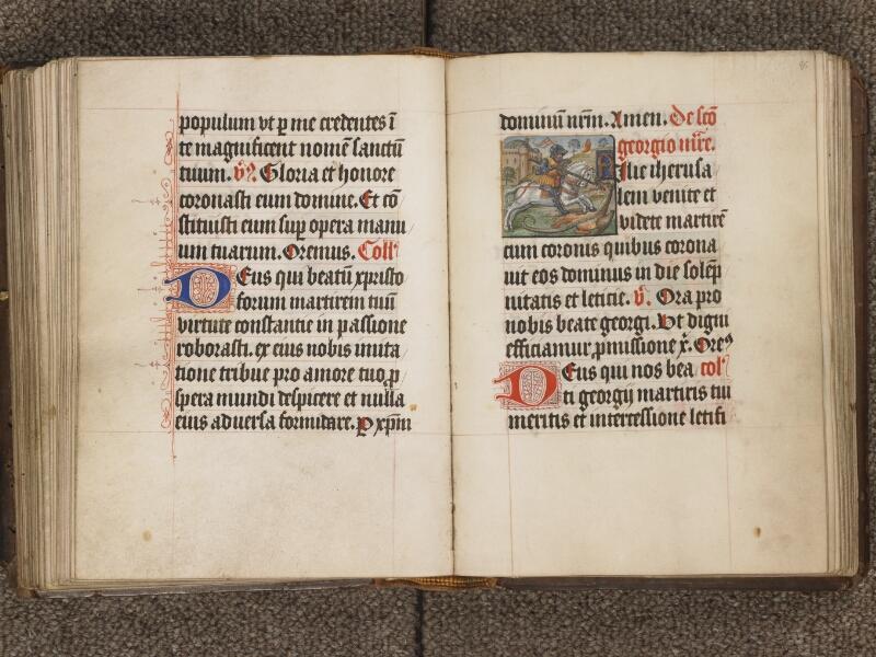 TOURNAI, Bibliothèque du Séminaire, 040, f. 084v - 085