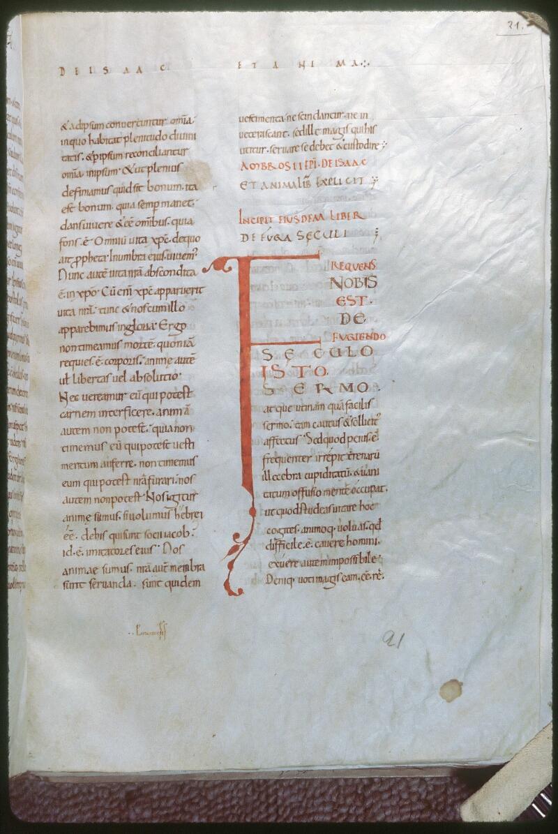 Tours, Bibl. mun., ms. 0266, f. 021