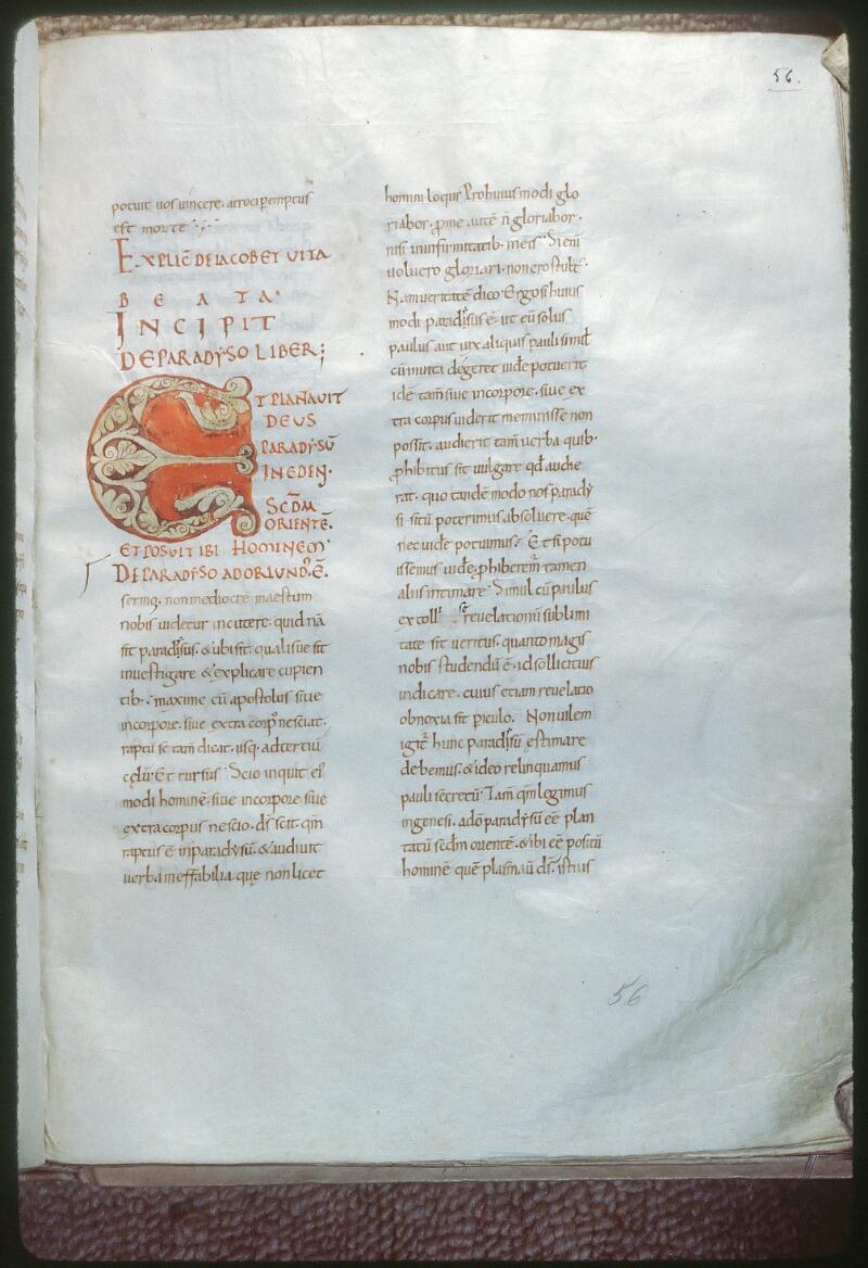 Tours, Bibl. mun., ms. 0266, f. 056