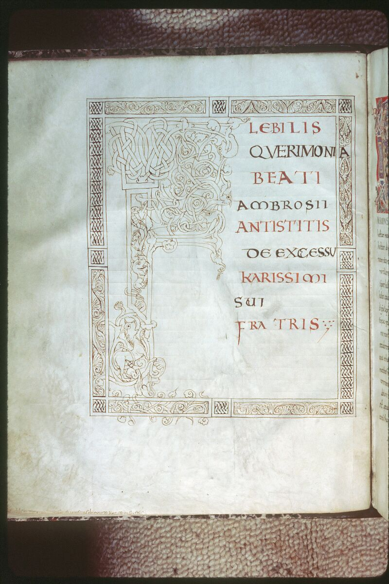 Tours, Bibl. mun., ms. 0267, f. 001v