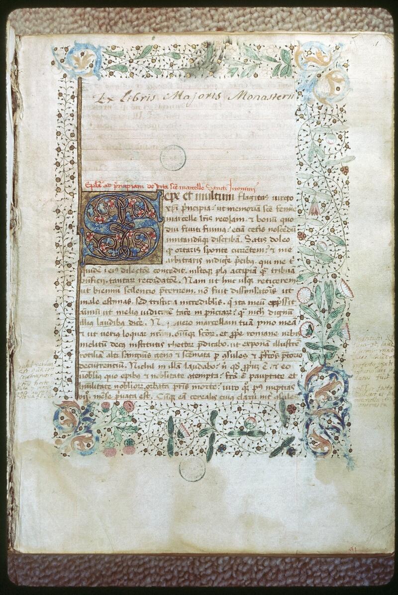 Tours, Bibl. mun., ms. 0280, f. 001