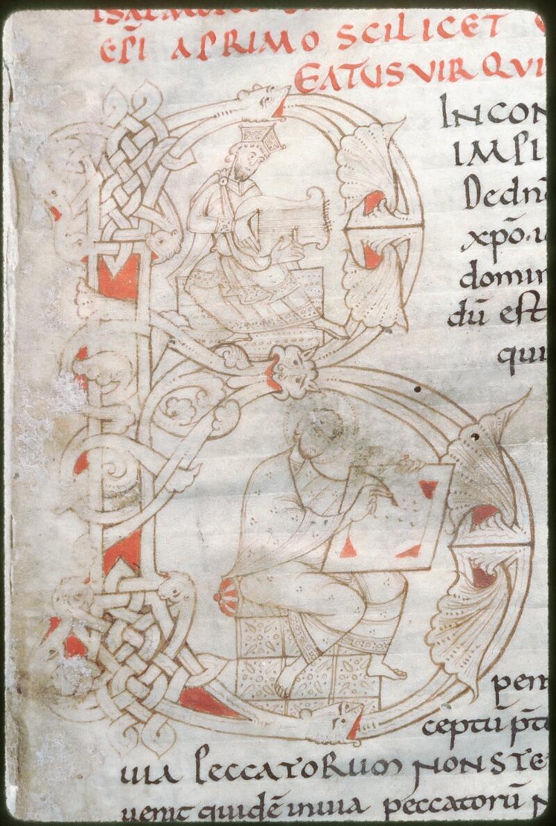 Tours, Bibl. mun., ms. 0294, f. 001 - vue 2