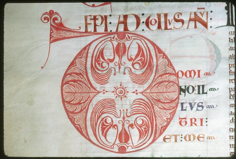 Tours, Bibl. mun., ms. 0295, f. 002v - vue 2