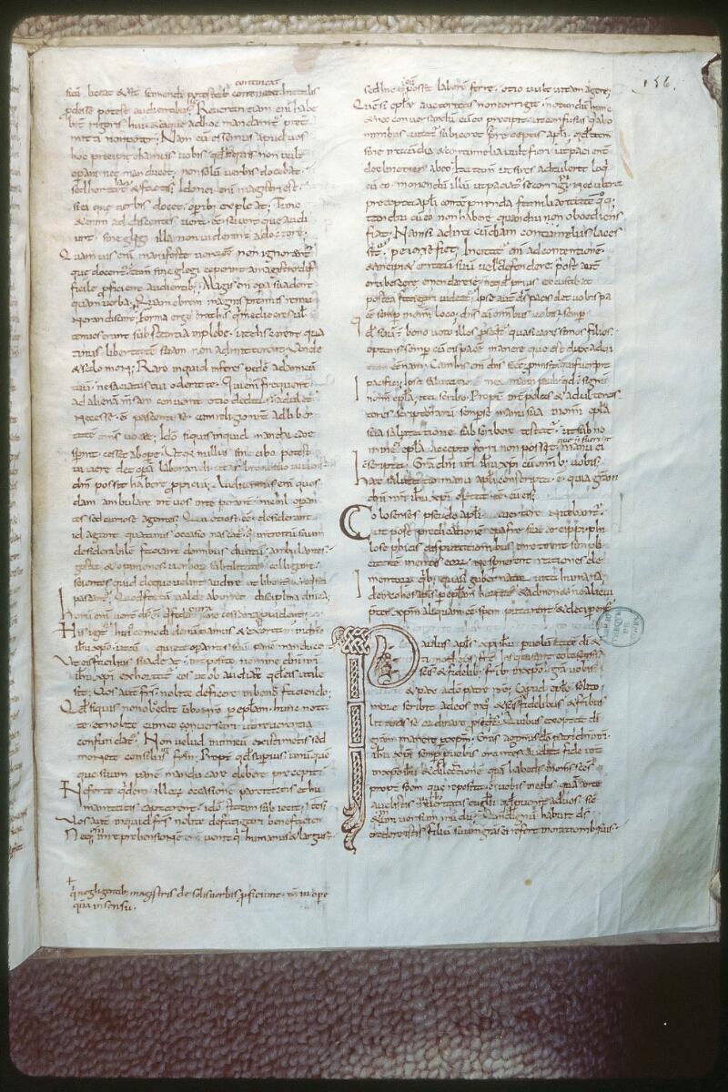 Tours, Bibl. mun., ms. 0298, f. 156
