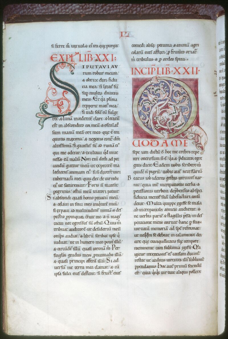 Tours, Bibl. mun., ms. 0319, f. 172v - vue 1