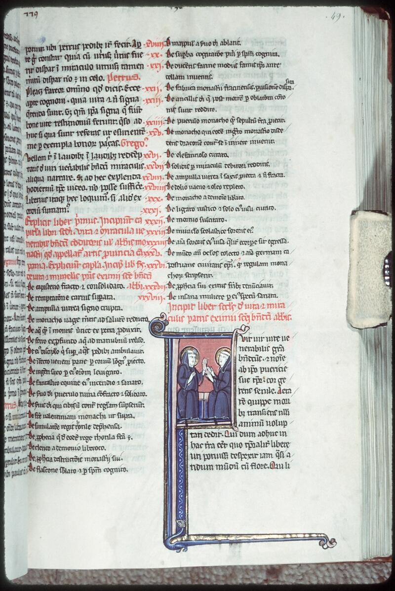 Tours, Bibl. mun., ms. 0327, f. 049 - vue 1