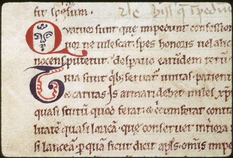 Tours, Bibl. mun., ms. 0343, f. 020v - vue 3
