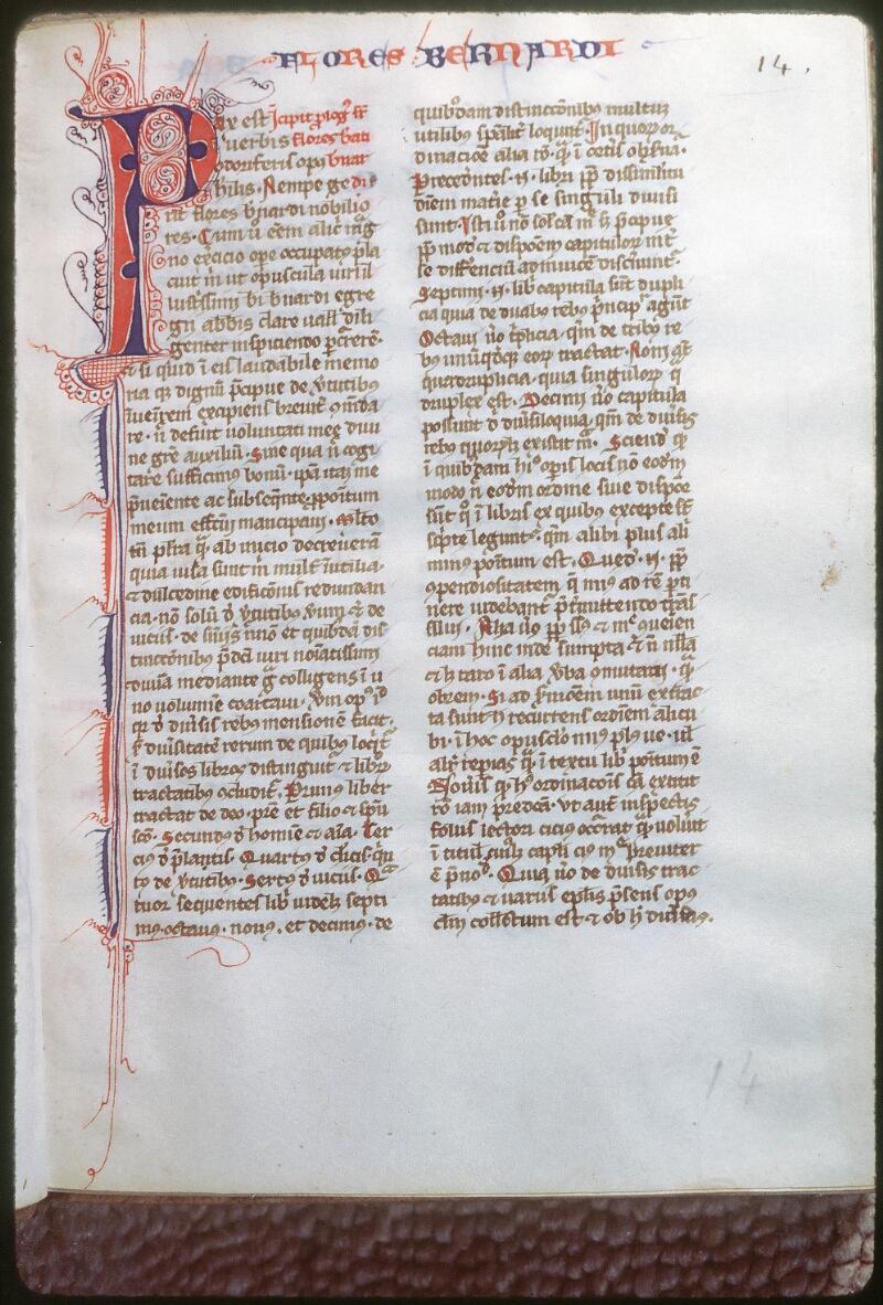 Tours, Bibl. mun., ms. 0346, f. 014