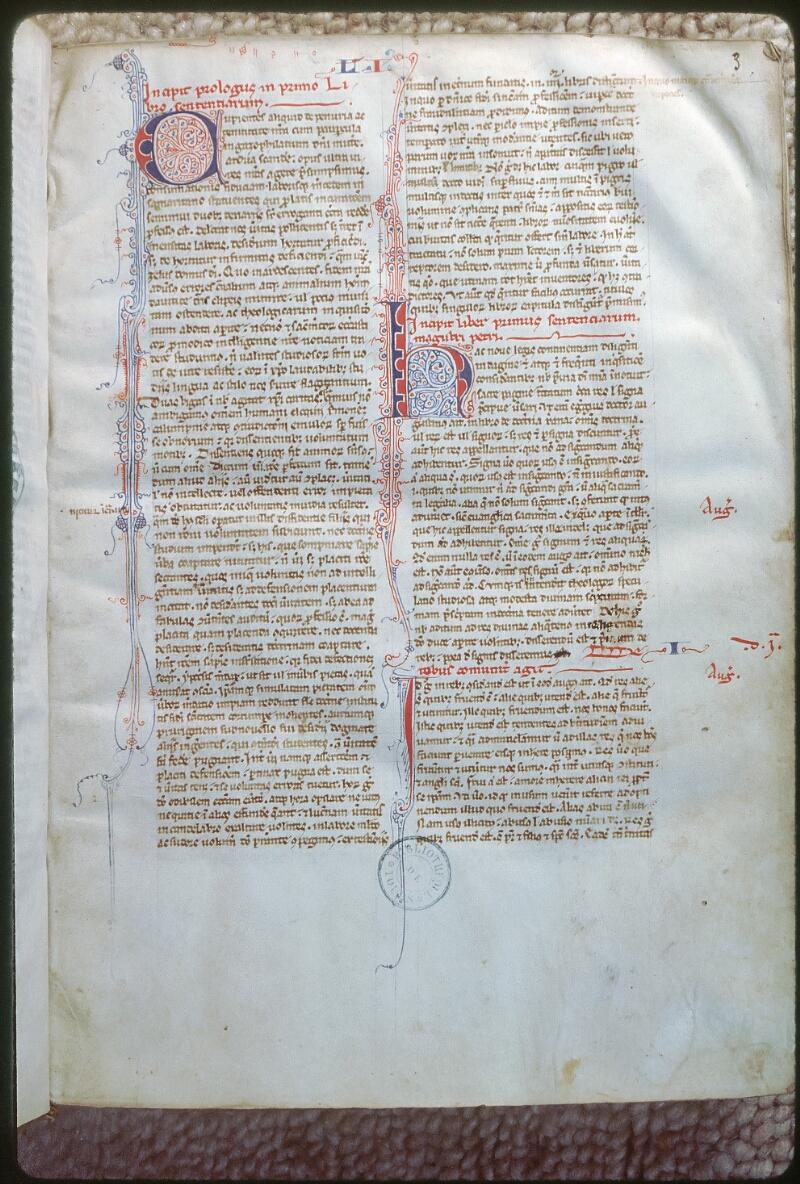 Tours, Bibl. mun., ms. 0358, f. 003