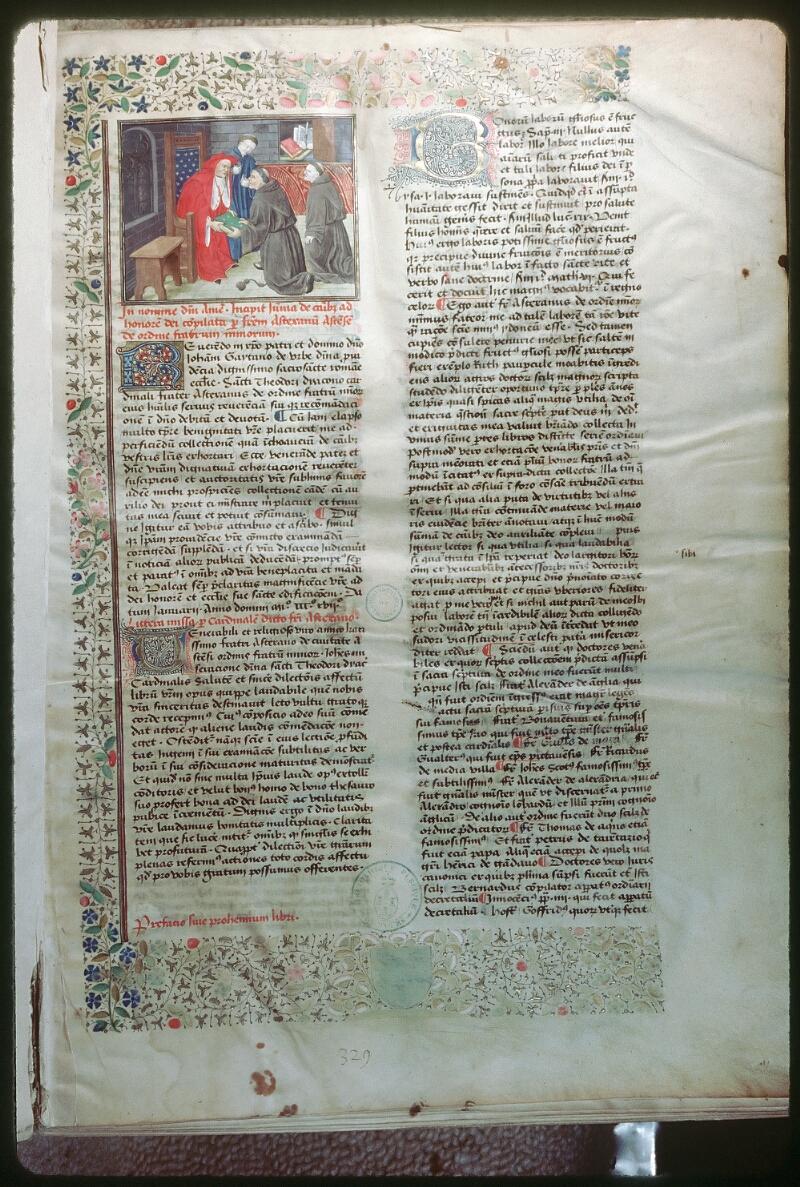 Tours, Bibl. mun., ms. 0455, f. 001 - vue 1