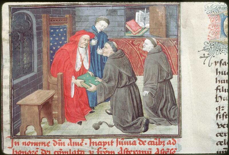 Tours, Bibl. mun., ms. 0455, f. 001 - vue 2