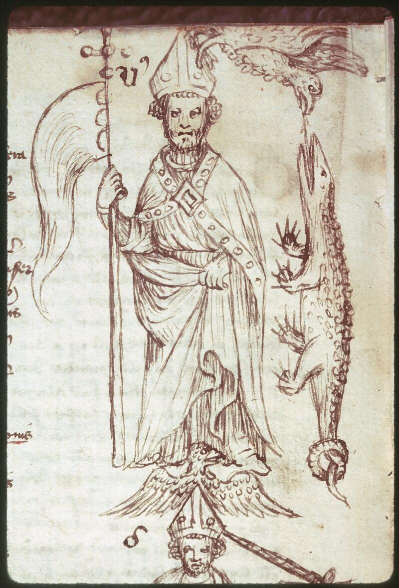 Tours, Bibl. mun., ms. 0520, f. 222v - vue 2