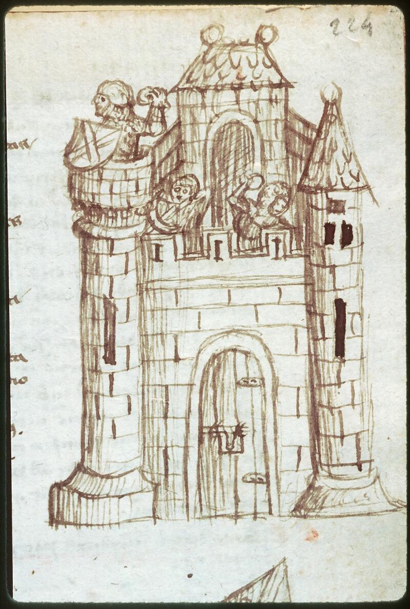 Tours, Bibl. mun., ms. 0520, f. 224 - vue 2