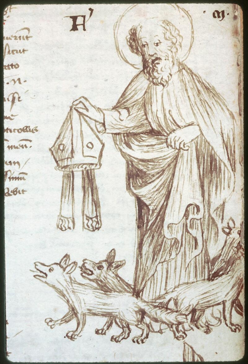Tours, Bibl. mun., ms. 0520, f. 225 - vue 2