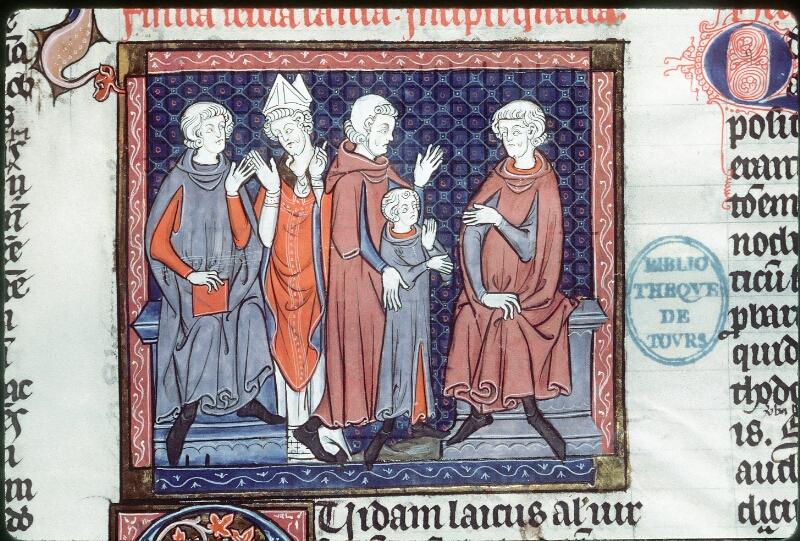 Tours, Bibl. mun., ms. 0558, f. 143 - vue 2