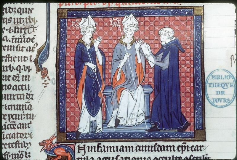 Tours, Bibl. mun., ms. 0558, f. 145 - vue 2