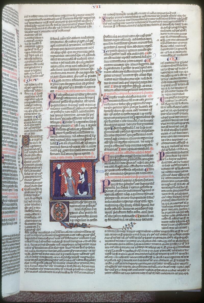 Tours, Bibl. mun., ms. 0558, f. 150 - vue 1