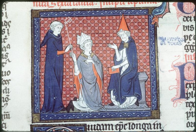 Tours, Bibl. mun., ms. 0558, f. 150 - vue 2