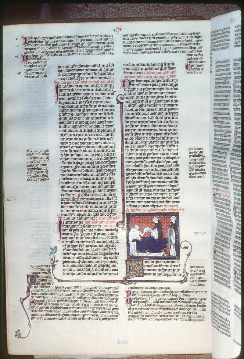 Tours, Bibl. mun., ms. 0558, f. 155v - vue 1