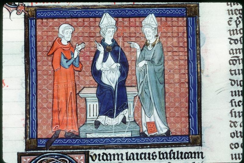 Tours, Bibl. mun., ms. 0558, f. 161 - vue 2