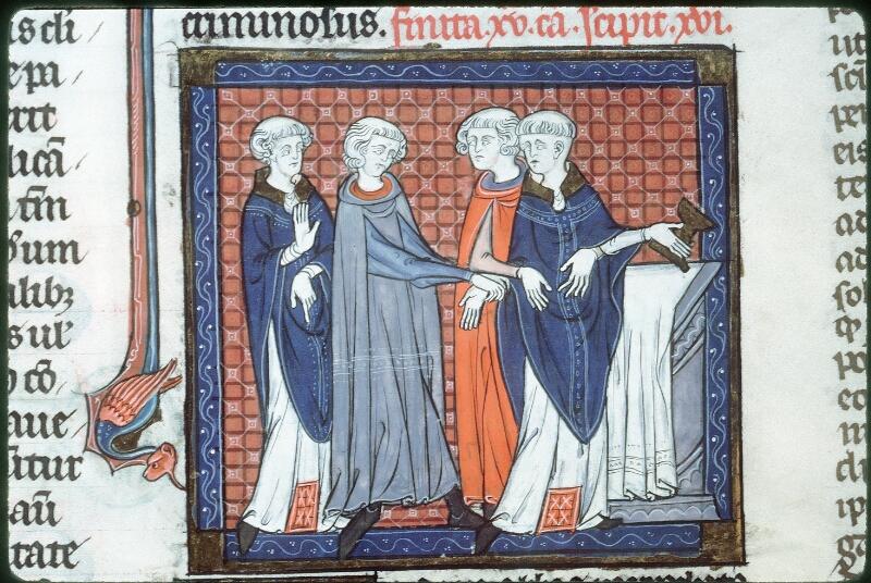 Tours, Bibl. mun., ms. 0558, f. 195v - vue 2