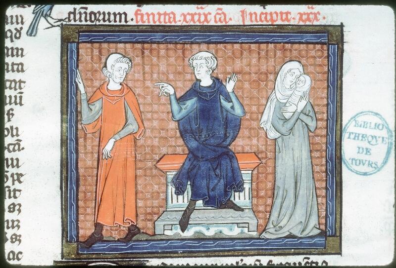 Tours, Bibl. mun., ms. 0558, f. 273v - vue 2