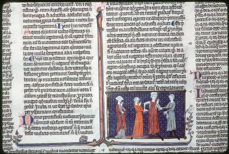 Tours, Bibl. mun., ms. 0558, f. 276 - vue 1