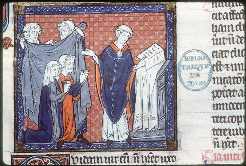 Tours, Bibl. mun., ms. 0558, f. 278 - vue 1