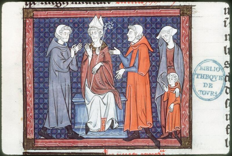 Tours, Bibl. mun., ms. 0558, f. 317 - vue 1