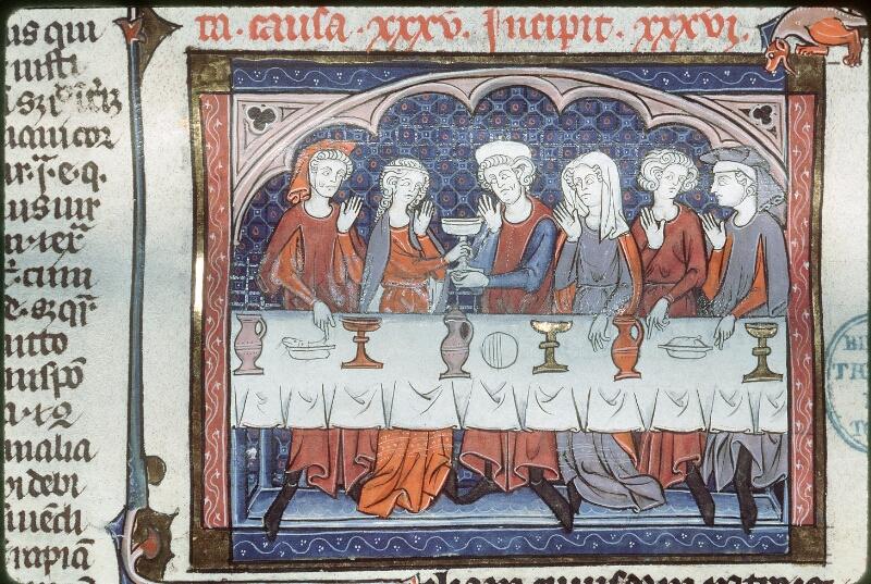 Tours, Bibl. mun., ms. 0558, f. 323v - vue 1