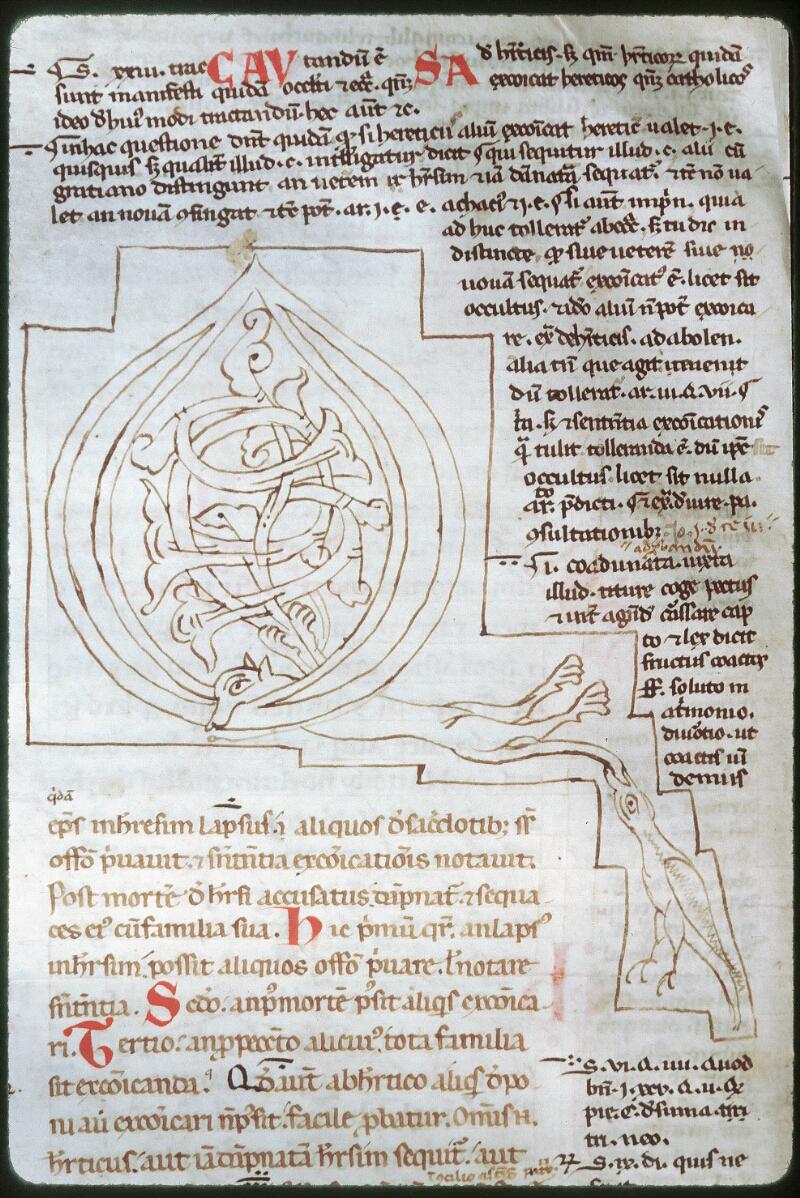 Tours, Bibl. mun., ms. 0559, f. 154v
