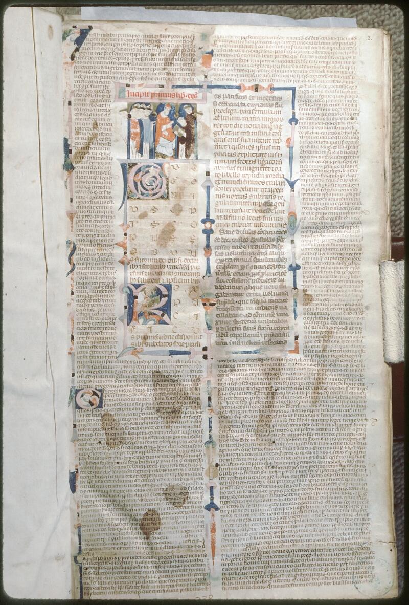 Tours, Bibl. mun., ms. 0568, f. 003 - vue 1