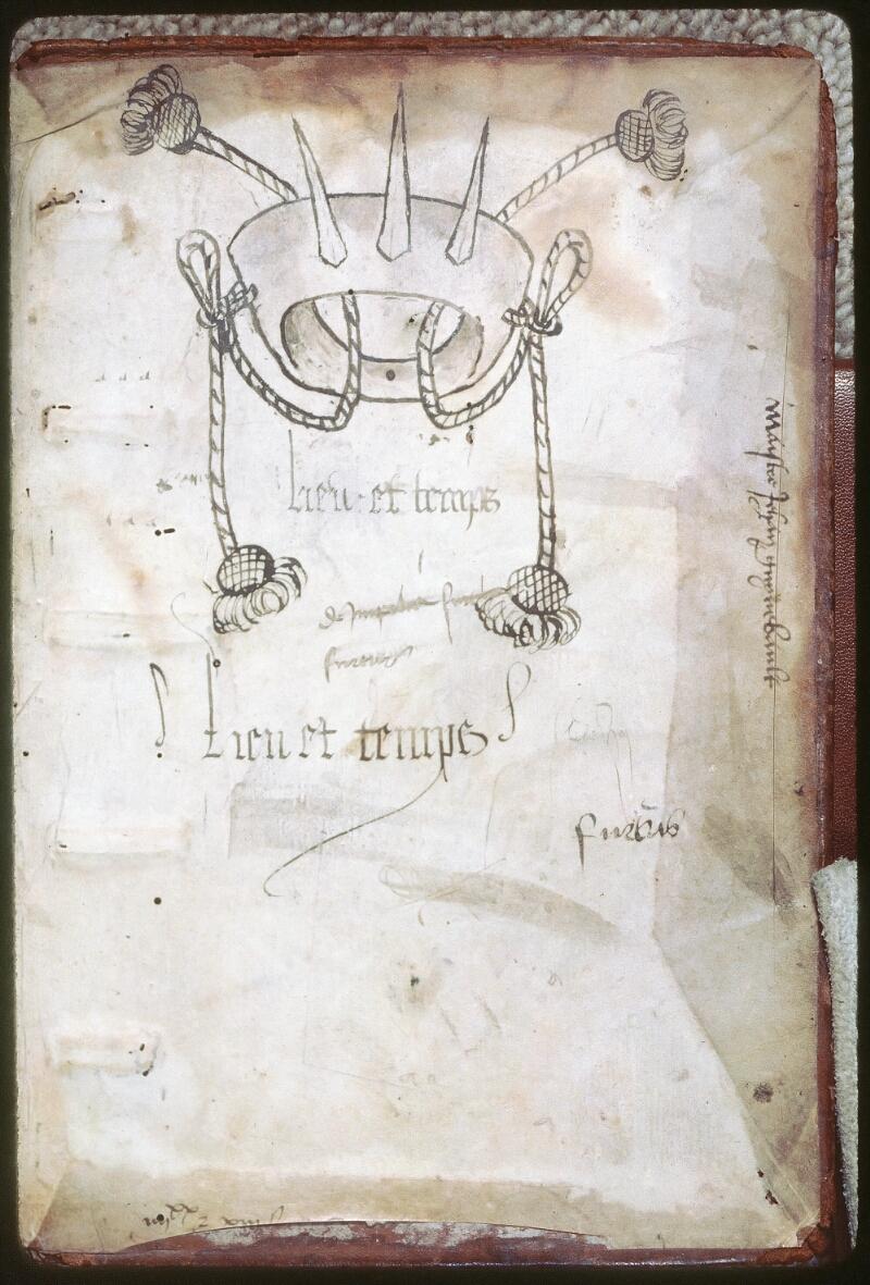 Tours, Bibl. mun., ms. 0757, contre-plat inf.