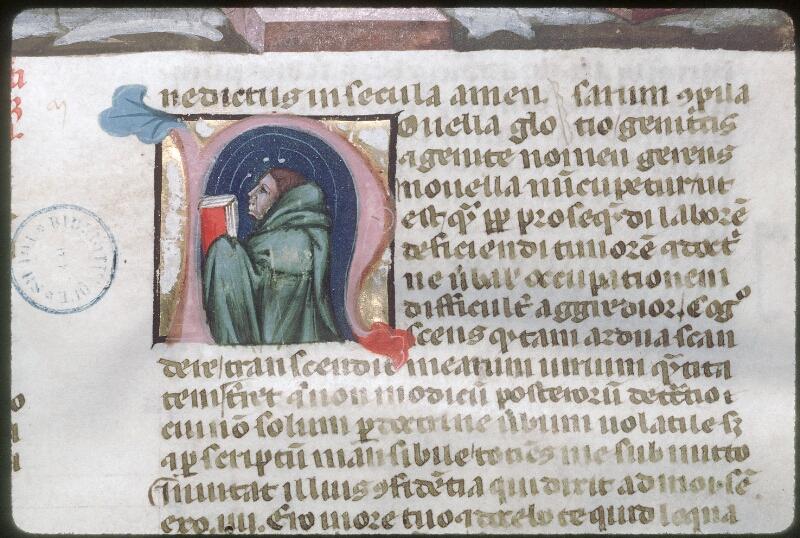 Tours, Bibl. mun., ms. 0573, f. 001 - vue 4