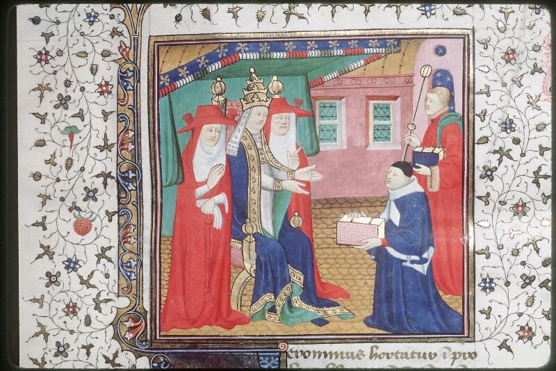 Tours, Bibl. mun., ms. 0572, f. 001 - vue 2