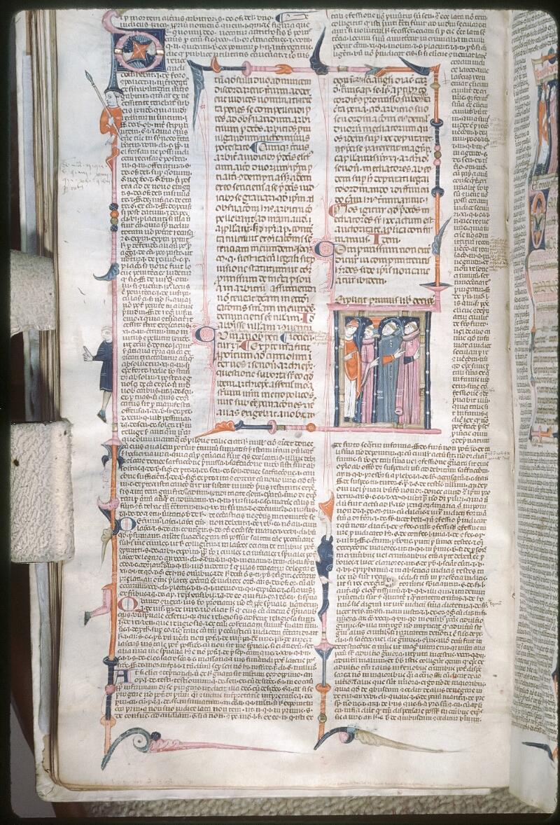 Tours, Bibl. mun., ms. 0568, f. 084v - vue 1