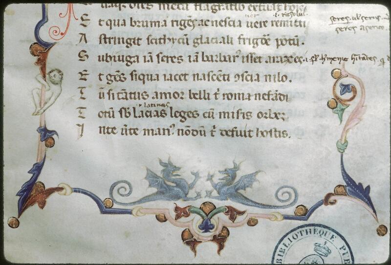 Tours, Bibl. mun., ms. 0882, f. 001 - vue 4