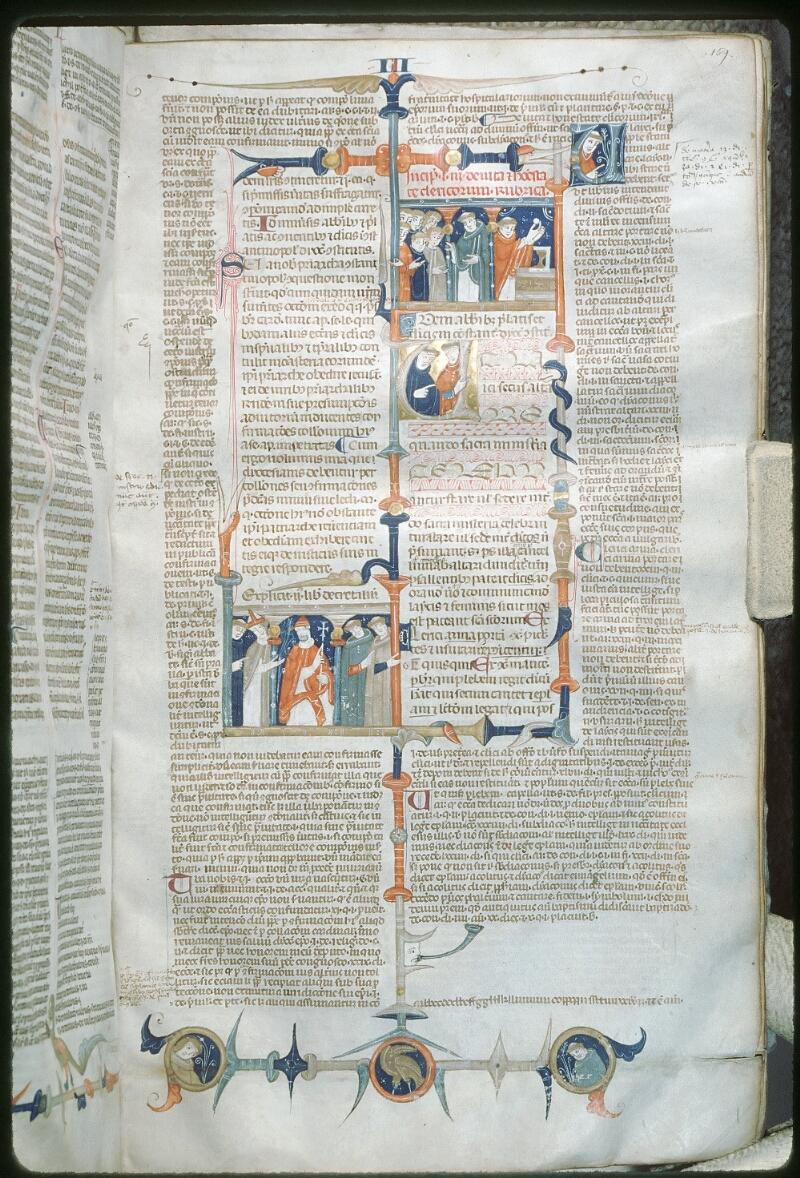 Tours, Bibl. mun., ms. 0568, f. 159 - vue 1