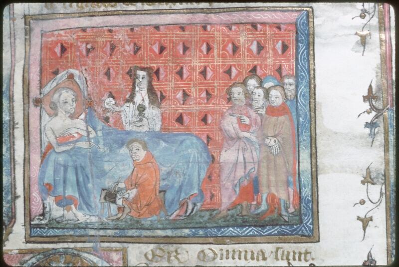 Tours, Bibl. mun., ms. 0644, f. 001 - vue 2
