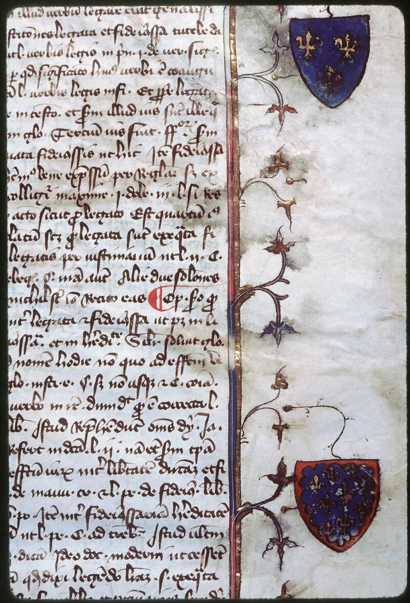Tours, Bibl. mun., ms. 0644, f. 001 - vue 3