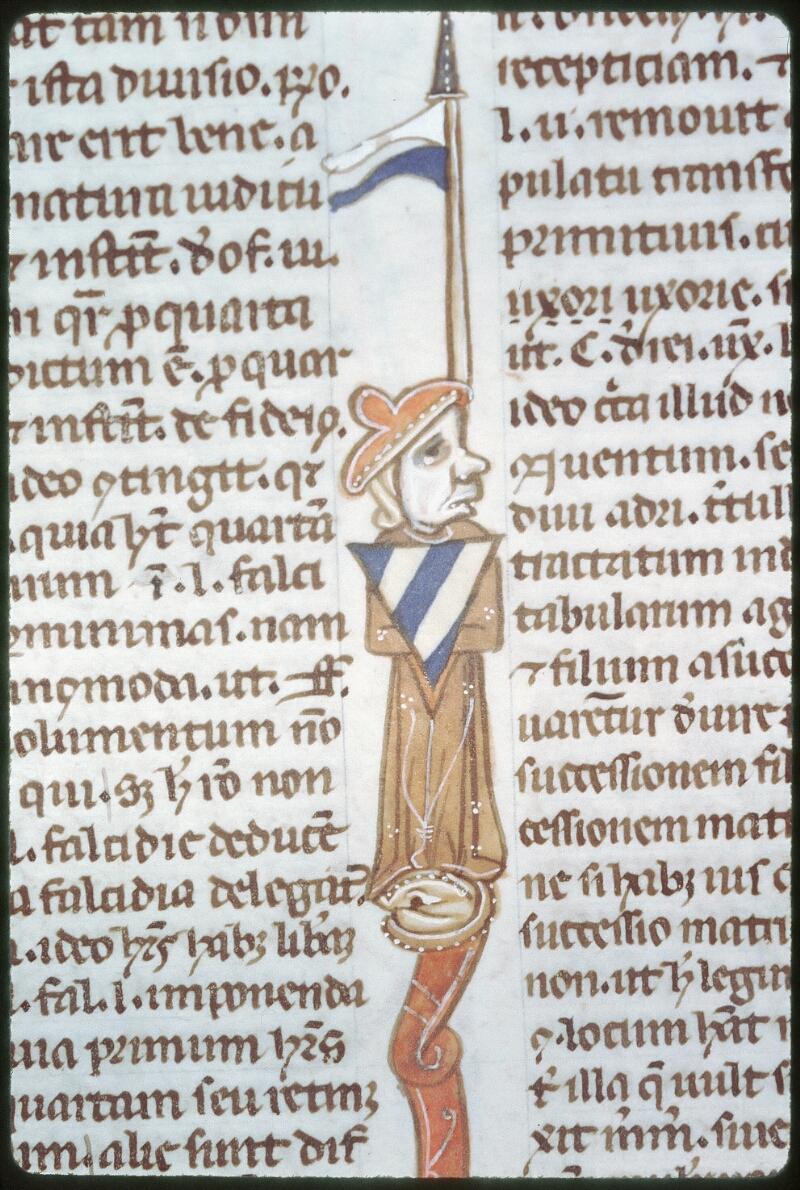 Tours, Bibl. mun., ms. 0654, f. 150v - vue 2
